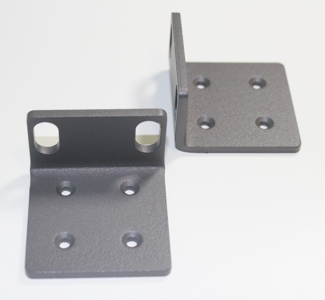 picture of mounting brackets included with safecapture HD