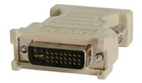 picture of a VGA to DVI adapter