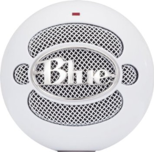 photo of Blue snowball USB microphone