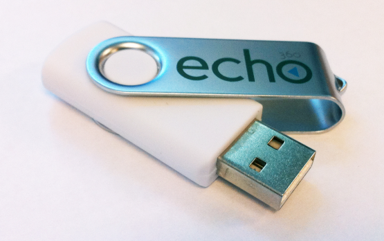 picture of echo USB drive included with safecapture HD
