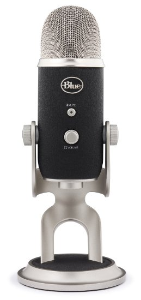 photo of Blue Yeti XLR microphone